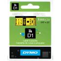 Taśma DYMO D1 40918 9mm x 7m - żółta/czarny nadruk