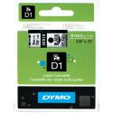 Taśma DYMO D1 40910 9mm x 7m - przezroczysta/czarny nadruk