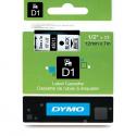 Taśma DYMO D1 45013 12mm x 7m - biała/czarny nadruk