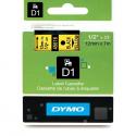 Taśma DYMO D1 45018 12mm x 7m - żółta/czarny nadruk