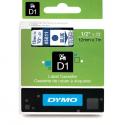 Taśma DYMO D1 45011 12mm x 7m - przezroczysta/niebieski nadruk
