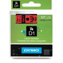 Taśma DYMO D1 45017 12mm x 7m - czerwona/czarny nadruk