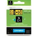 Taśma DYMO D1 45808 19mm x 7m - żółta/czarny nadruk