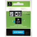 Taśma DYMO D1 53710 24mm x 7m - przezroczysta/czarny nadruk