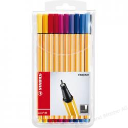 Cienkopisy Stabilo Point 88 - komplet w etui 20 kolorów
