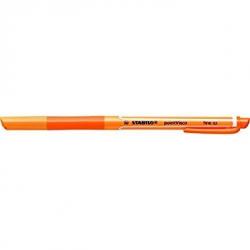 Pióro kulkowe STABILO pointVisco - pomarańczowy