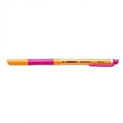 Pióro kulkowe STABILO pointVisco - różowy