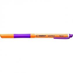 Pióro kulkowe STABILO pointVisco - fioletowy (lila)