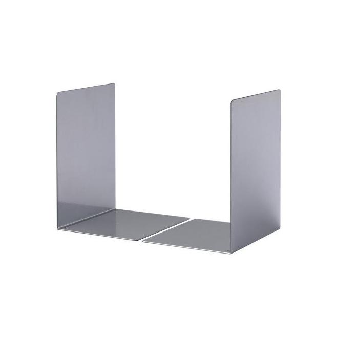 Podpórka do książek Durable - rozmiar L / srebrna
