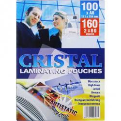Folia do laminowania Argo Cristal A6 80mic./100szt.