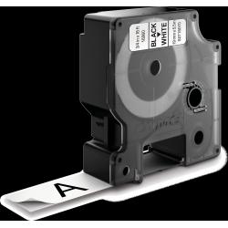 Taśma DYMO D1 16960 poliestrowa trwała 19mm x 5,5m - biała/czarny nadruk