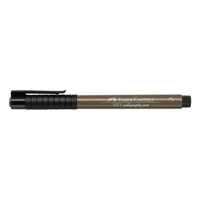 Pisak artystyczny - PITT ARTIST PEN Calligraphy C 177 - walnut brown /orzechowy brąz/