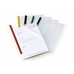Obwoluta do listew zaciskowych A4 Durable - transparentna