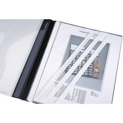 Listwa kryjąca do mechanizmu skoroszytowego Durable - biała