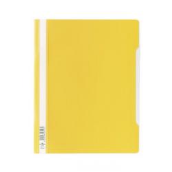 Skoroszyt standardowy A4 Durable - twardy / żółty