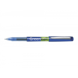 Pióro kulkowe Pilot Begreen - Greenball Ink Writing - niebieskie