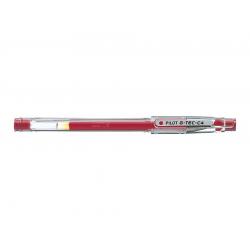 Długopis żelowy Pilot G-TEC-C 4 Hi-Tecpoint - czerwony