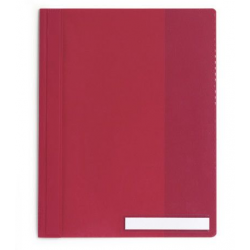Skoroszyt niestandardowy A4 Durable - twardy / czerwony