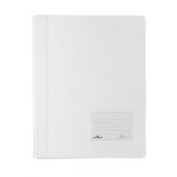 Skoroszyt niestandardowy A4 Duralux - twardy / biały