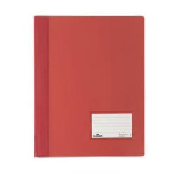 Skoroszyt niestandardowy A4 Duralux - twardy / czerwony