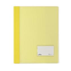Skoroszyt niestandardowy A4 Duralux - twardy / żółty