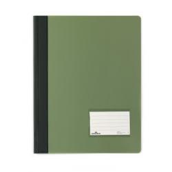 Skoroszyt niestandardowy A4 Duralux - twardy / zielony