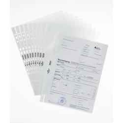 Koszulka na dokumenty Premium A4 - otwarta od góry - krystalicznie transparentna / 100 szt.