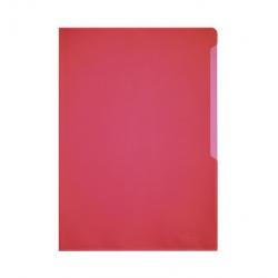 Obwoluta na dokumenty Standard A4 - transparentna czerwona / 100 szt.