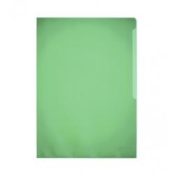 Obwoluta na dokumenty Standard A4 - transparentna zielona / 100 szt.