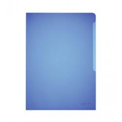 Obwoluta na dokumenty Standard A4 - transparentna niebieska / 100 szt.