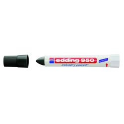 Marker Edding 950 przemysłowy w paście - czarny