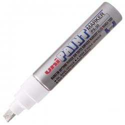 Marker olejowy Uni PAINT PX-30 - srebrny