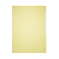 Obwoluta na dokumenty Business A4 - transparentna żółta / 50 szt.