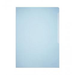 Obwoluta na dokumenty Business A4 - transparentna niebieska / 50 szt.