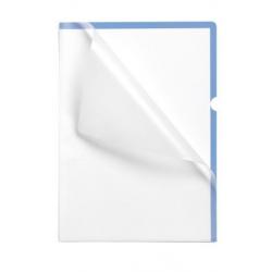 Obwoluta na dokumenty Premium A4 - transparentna niebieska / 10 szt.