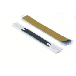 Pasek skoroszytowy samoprzylepny Flexifix - biały / 100 szt.