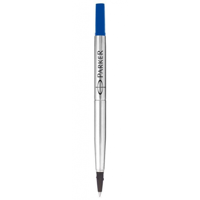 Wkład do pióra kulkowego Parker Quink F - kolor niebieski