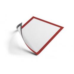 Ramka magnetyczna Duraframe Magnetic A4 - czerwona / 5 szt.