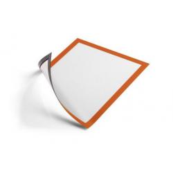 Ramka magnetyczna Duraframe Magnetic A4 - pomarańczowa / 5 szt.