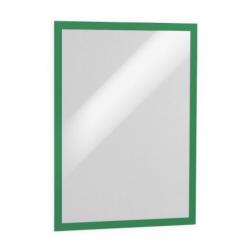 Ramka magnetyczna samoprzylepna Duraframe A3 - zielona / 6 szt.