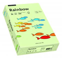 Papier kolorowy Rainbow A4 80g/500ark., nr 72 - blado zielony