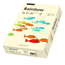 Papier kolorowy Rainbow A4 160g/250ark., nr 03 - kremowy