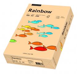 Papier kolorowy Rainbow A4 160g/250ark., nr 40 - łososiowy