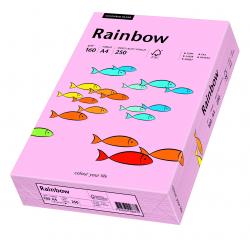 Papier kolorowy Rainbow A4 160g/250ark., nr 54 - różowy jasny