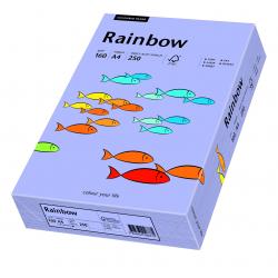 Papier kolorowy Rainbow A4 160g/250ark., nr 60 - fioletowy