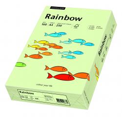 Papier kolorowy Rainbow A4 160g/250ark., nr 72 - blado zielony