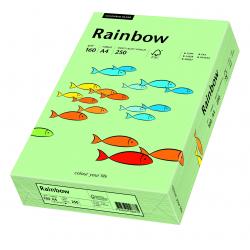 Papier kolorowy Rainbow A4 160g/250ark., nr 75 - przygaszona zieleń