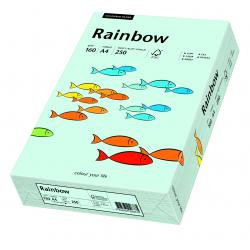 Papier kolorowy Rainbow A4 160g/250ark., nr 82 - niebieski jasny