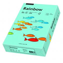 Papier kolorowy Rainbow A4 160g/250ark., nr 84 - morski