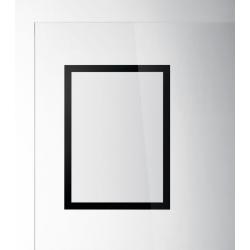 Ramka magnetyczna samoprzylegająca Duraframe Sun A4 - czarna / 2 szt.